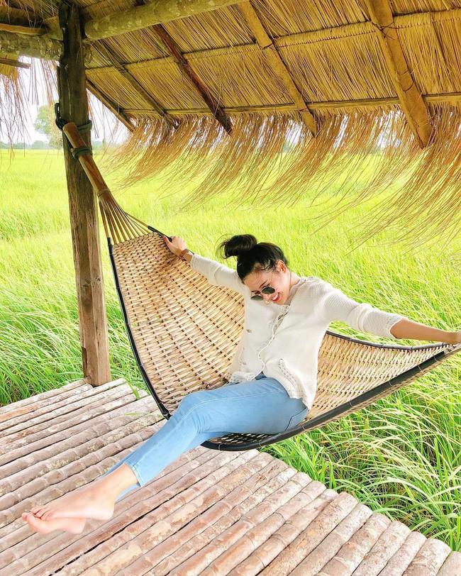 Quán cà phê rộng 30ha, view ruộng lúa bao la xanh ngát ở Thái Lan đang gây sốt rần rần - Ảnh 2.