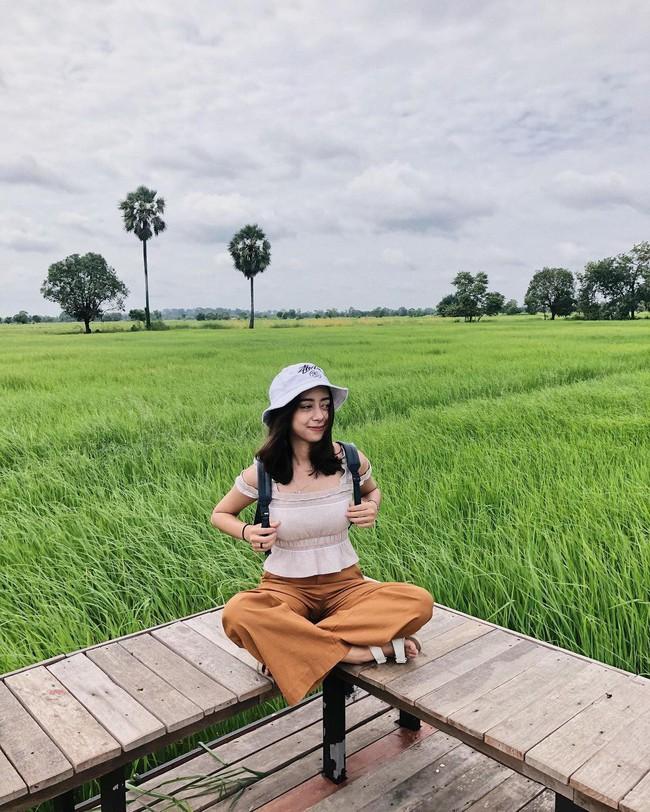 Quán cà phê rộng 30ha, view ruộng lúa bao la xanh ngát ở Thái Lan đang gây sốt rần rần - Ảnh 6.