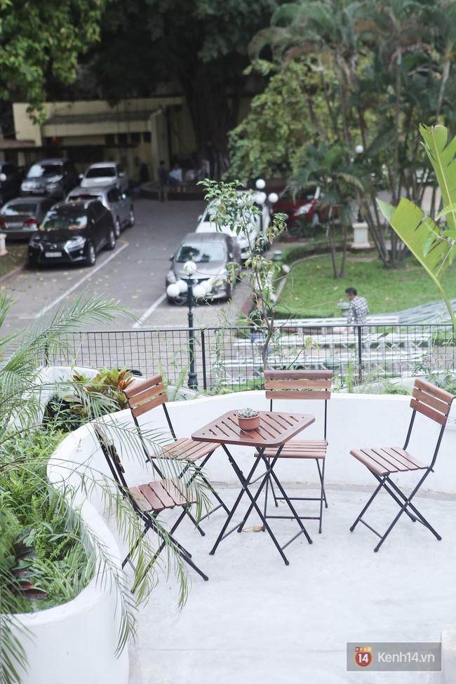 Hà Nội: 3 quán cà phê xanh mướt, mát rượi cực hợp để đi vào những ngày đầu thu - Ảnh 12.