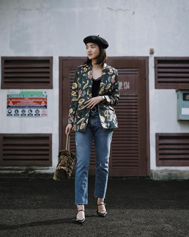 15 cách biến hóa với áo blazer chuẩn thời thượng mà các nàng sẽ muốn diện suốt cả mùa Thu/Đông này - Ảnh 14.