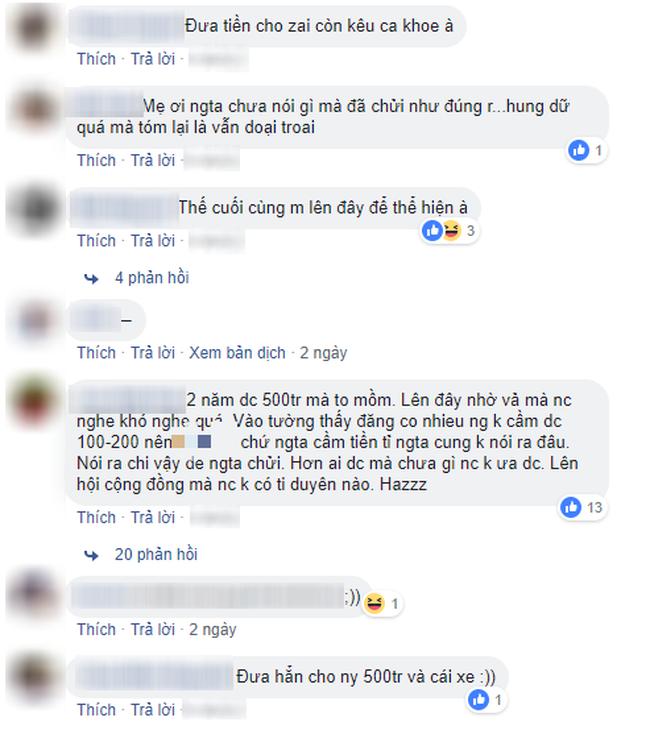 Hỏi cách đòi 500 triệu cho vay mà bị mắng vừa dại trai vừa câu like, cô nàng bán hàng online trở mặt: Các chị không đủ đẳng cấp - Ảnh 3.