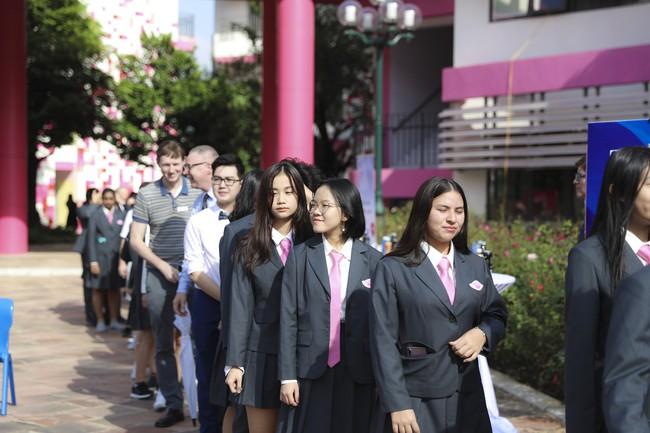 Buổi lễ khai giảng đẳng cấp, ngập sắc hồng của TH School - ngôi trường quốc tế hiện đại nhất thủ đô Hà Nội - Ảnh 18.