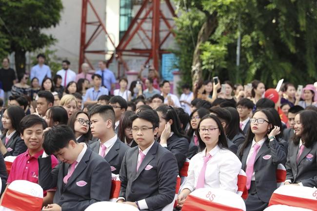 Buổi lễ khai giảng đẳng cấp, ngập sắc hồng của TH School - ngôi trường quốc tế hiện đại nhất thủ đô Hà Nội - Ảnh 9.
