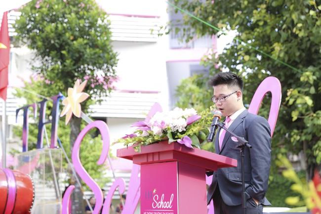Buổi lễ khai giảng đẳng cấp, ngập sắc hồng của TH School - ngôi trường quốc tế hiện đại nhất thủ đô Hà Nội - Ảnh 6.