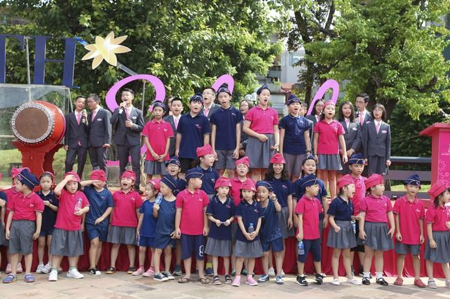 Buổi lễ khai giảng đẳng cấp, ngập sắc hồng của TH School - ngôi trường quốc tế hiện đại nhất thủ đô Hà Nội - Ảnh 16.