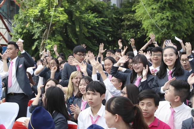 Buổi lễ khai giảng đẳng cấp, ngập sắc hồng của TH School - ngôi trường quốc tế hiện đại nhất thủ đô Hà Nội - Ảnh 5.