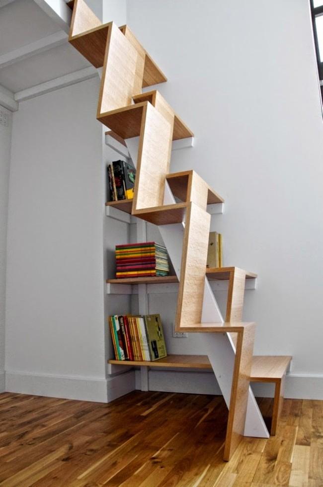 14 mẫu thiết kế cầu thang cho nhà có gác lửng, vừa tiết kiệm diện tích vừa làm duyên cho nhà nhỏ - Ảnh 6.