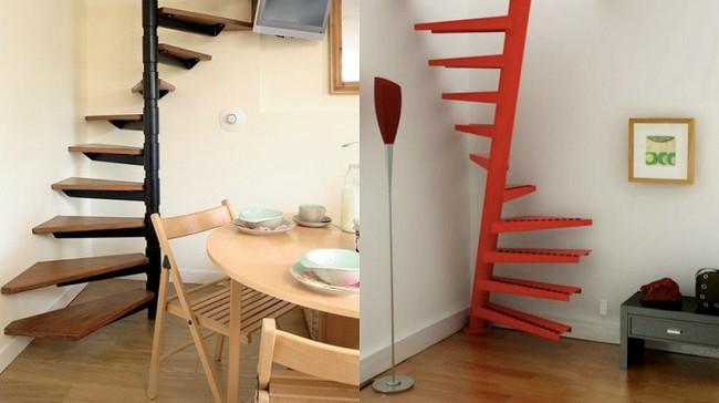 14 mẫu thiết kế cầu thang cho nhà có gác lửng, vừa tiết kiệm diện tích vừa làm duyên cho nhà nhỏ - Ảnh 7.