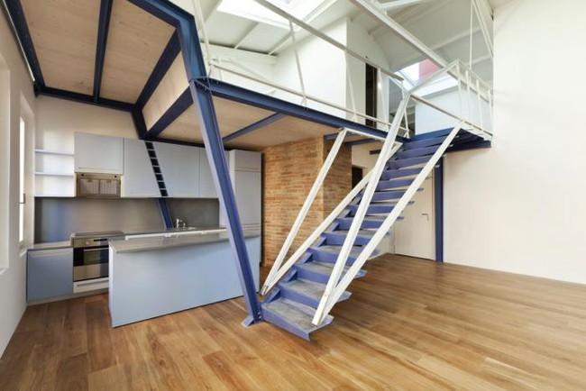 14 mẫu thiết kế cầu thang cho nhà có gác lửng, vừa tiết kiệm diện tích vừa làm duyên cho nhà nhỏ - Ảnh 10.
