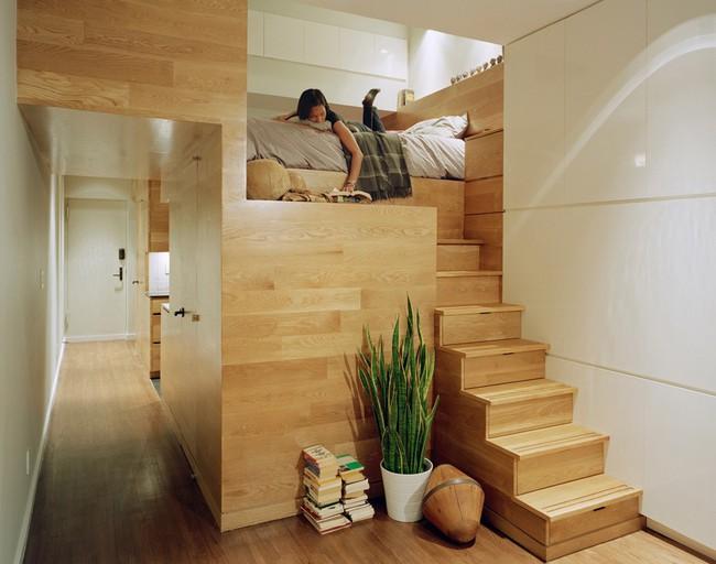 14 mẫu thiết kế cầu thang cho nhà có gác lửng, vừa tiết kiệm diện tích vừa làm duyên cho nhà nhỏ - Ảnh 11.