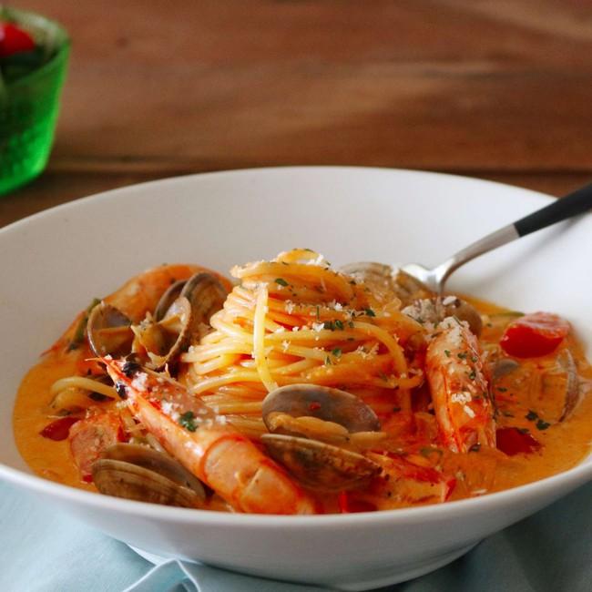 Món ngon cuối tuần: Mỳ Ý hải sản - Ảnh 6.