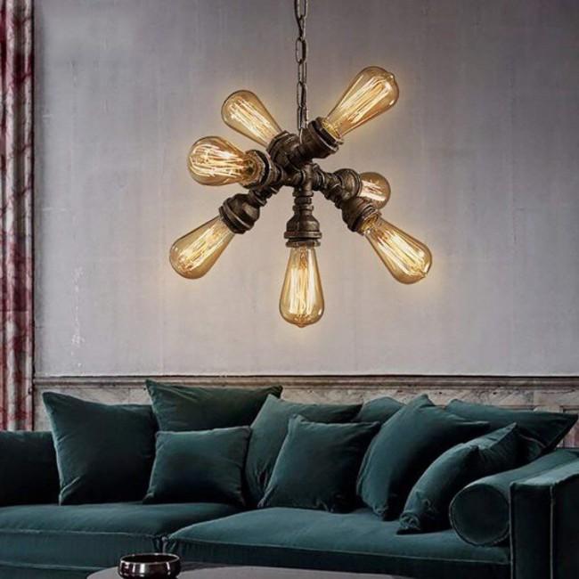 Gợi ý những mẫu đèn chùm tuyệt đẹp giúp không gian bừng sáng trong năm mới - Ảnh 18.