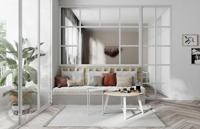 2 căn hộ nhỏ nhưng vô cùng đỉnh cao cho sự kết hợp giữa phong cách tối giản và phong cách Scandinavian  - Ảnh 7.
