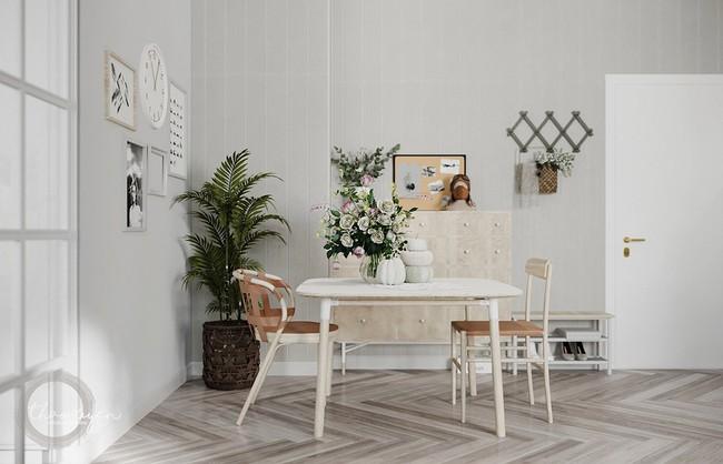 2 căn hộ nhỏ nhưng vô cùng đỉnh cao cho sự kết hợp giữa phong cách tối giản và phong cách Scandinavian  - Ảnh 9.