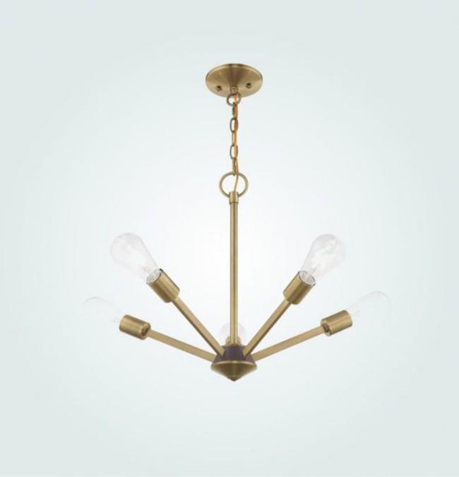 Gợi ý những mẫu đèn chùm tuyệt đẹp giúp không gian bừng sáng trong năm mới - Ảnh 9.