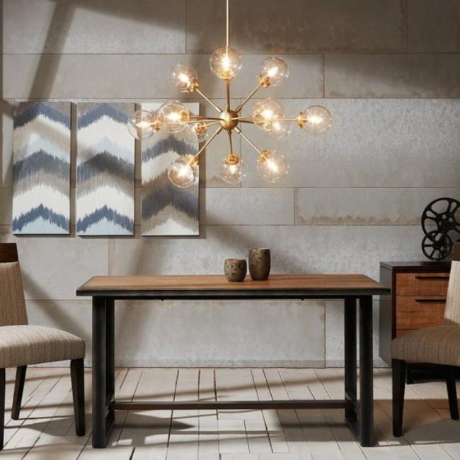 Gợi ý những mẫu đèn chùm tuyệt đẹp giúp không gian bừng sáng trong năm mới - Ảnh 11.