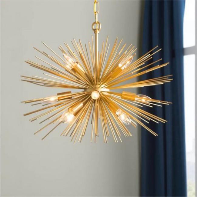 Gợi ý những mẫu đèn chùm tuyệt đẹp giúp không gian bừng sáng trong năm mới - Ảnh 13.