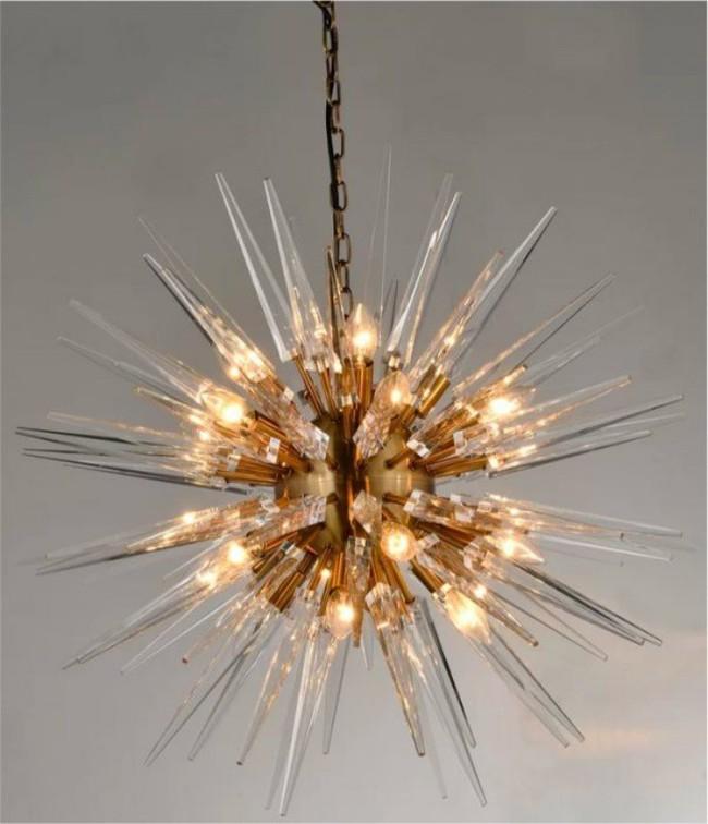 Gợi ý những mẫu đèn chùm tuyệt đẹp giúp không gian bừng sáng trong năm mới - Ảnh 14.