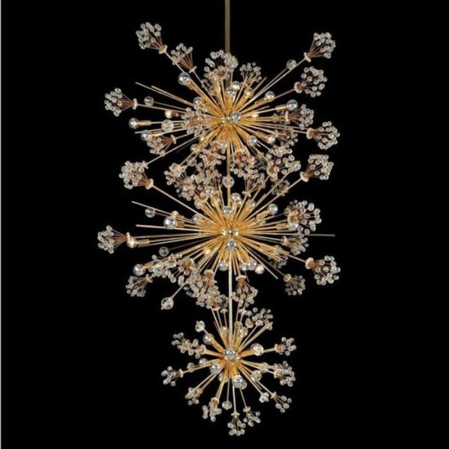 Gợi ý những mẫu đèn chùm tuyệt đẹp giúp không gian bừng sáng trong năm mới - Ảnh 15.