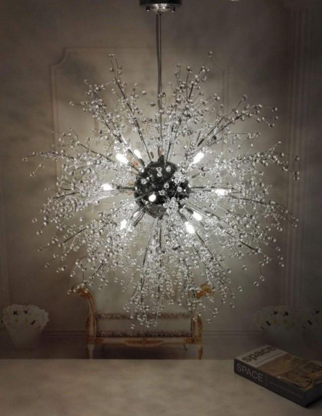 Gợi ý những mẫu đèn chùm tuyệt đẹp giúp không gian bừng sáng trong năm mới - Ảnh 16.