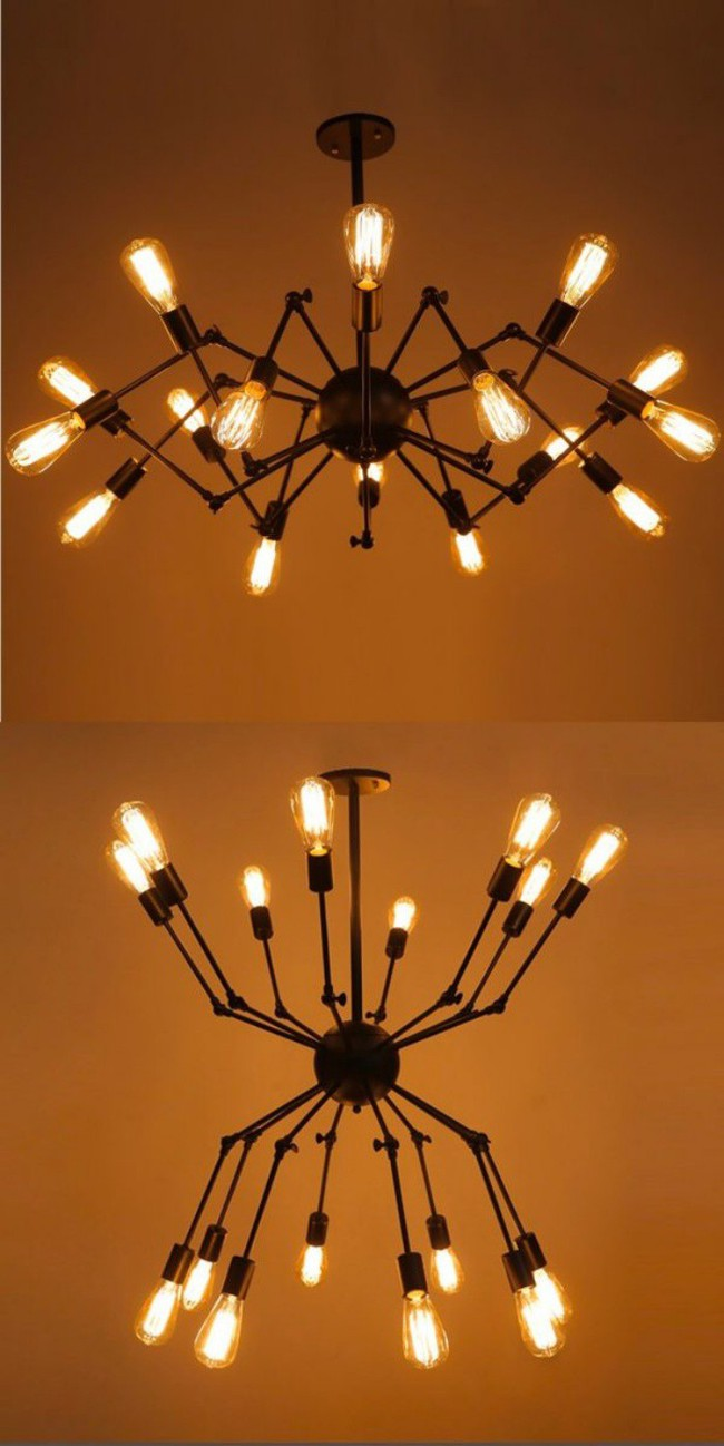 Gợi ý những mẫu đèn chùm tuyệt đẹp giúp không gian bừng sáng trong năm mới - Ảnh 19.