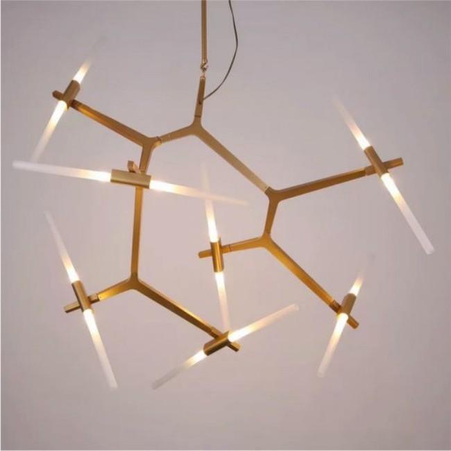 Gợi ý những mẫu đèn chùm tuyệt đẹp giúp không gian bừng sáng trong năm mới - Ảnh 20.
