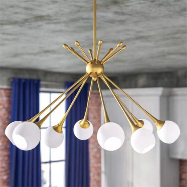 Gợi ý những mẫu đèn chùm tuyệt đẹp giúp không gian bừng sáng trong năm mới - Ảnh 4.