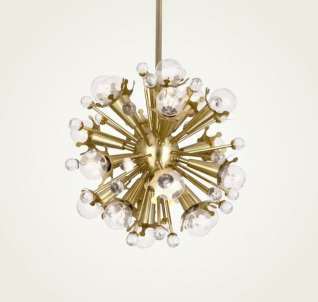 Gợi ý những mẫu đèn chùm tuyệt đẹp giúp không gian bừng sáng trong năm mới - Ảnh 8.