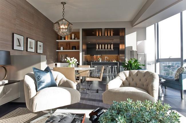 Đèn thả trần - xu hướng nội thất phòng khách 2019 để bạn lựa chọn cho gia đình - Ảnh 8.