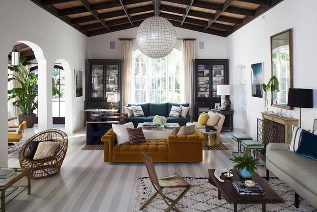 Đèn thả trần - xu hướng nội thất phòng khách 2019 để bạn lựa chọn cho gia đình - Ảnh 15.