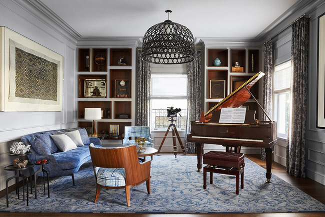 Đèn thả trần - xu hướng nội thất phòng khách 2019 để bạn lựa chọn cho gia đình - Ảnh 21.