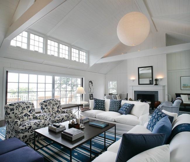 Đèn thả trần - xu hướng nội thất phòng khách 2019 để bạn lựa chọn cho gia đình - Ảnh 24.