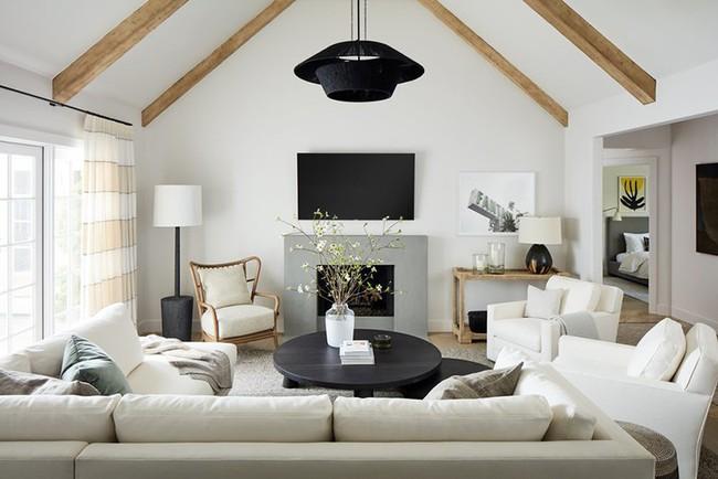 Đèn thả trần - xu hướng nội thất phòng khách 2019 để bạn lựa chọn cho gia đình - Ảnh 25.