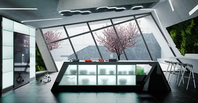 Những gợi ý trang trí góc bếp sang trọng, bừng sáng đón Xuân an vui đang về (P2) - Ảnh 16.