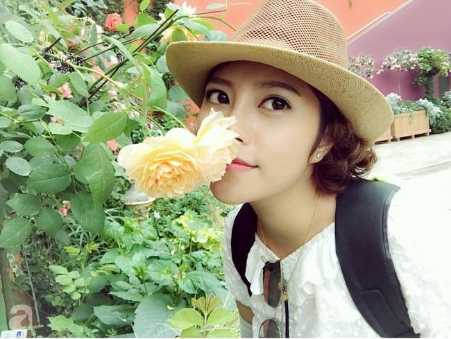Vườn rau và hoa ở ban công với hơn 60 loại tươi tốt xanh mướt mắt của nữ dược sĩ ở Hà Nội - Ảnh 4.