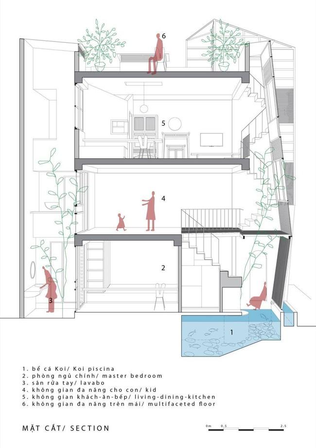 Ngôi nhà ống chỉ  vỏn vẹn 36m² nhưng thoáng đẹp bất ngờ của gia đình có trẻ nhỏ ở Gia Lâm, Hà Nội - Ảnh 11.