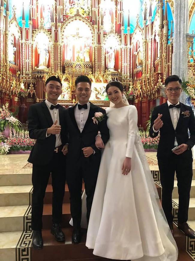 Nhan sắc lộng lẫy, gia thế đáng gờm của cô dâu sống trong lâu đài, đám cưới ngập vàng ở Nam Định - Ảnh 5.