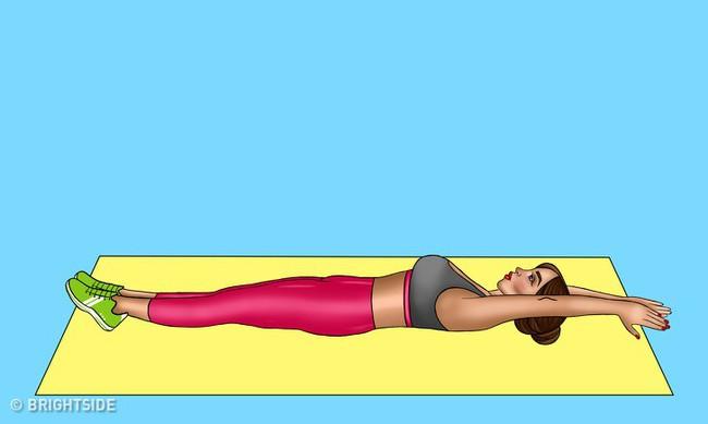 8 bài tập vừa dễ dàng tập tại nhà lại đem đến cho bạn một chiếc bụng phẳng chỉ sau 30 ngày - Ảnh 9.