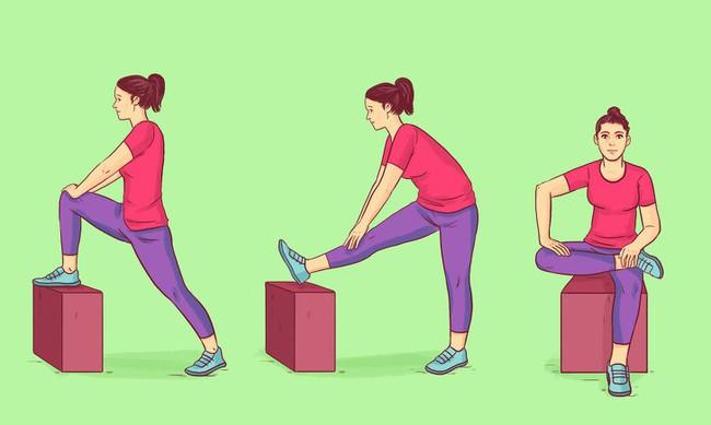 Chị em muốn có cơ thể vừa linh hoạt lại trông trẻ đẹp hơn tuổi thật thì tập ngay 8 động tác này - Ảnh 4.