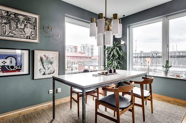 25 phòng ăn cho căn hộ nhỏ vừa đẹp lại vừa tiết kiệm không gian - Ảnh 10.
