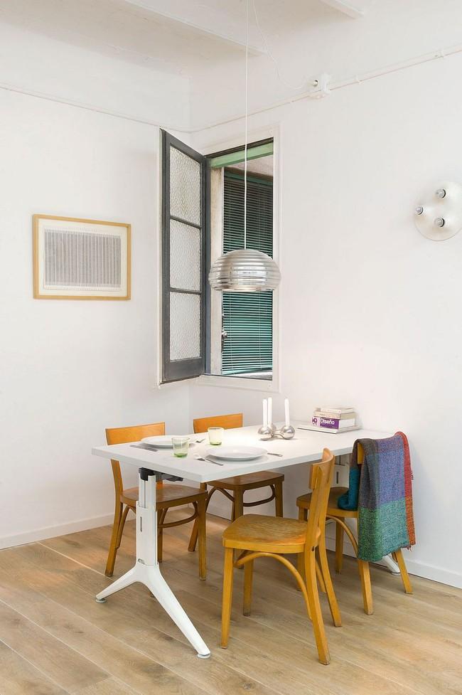 25 phòng ăn cho căn hộ nhỏ vừa đẹp lại vừa tiết kiệm không gian - Ảnh 18.