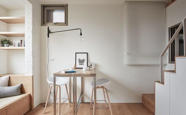 25 phòng ăn cho căn hộ nhỏ vừa đẹp lại vừa tiết kiệm không gian - Ảnh 23.