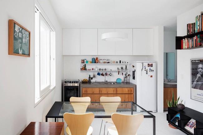 25 phòng ăn cho căn hộ nhỏ vừa đẹp lại vừa tiết kiệm không gian - Ảnh 24.