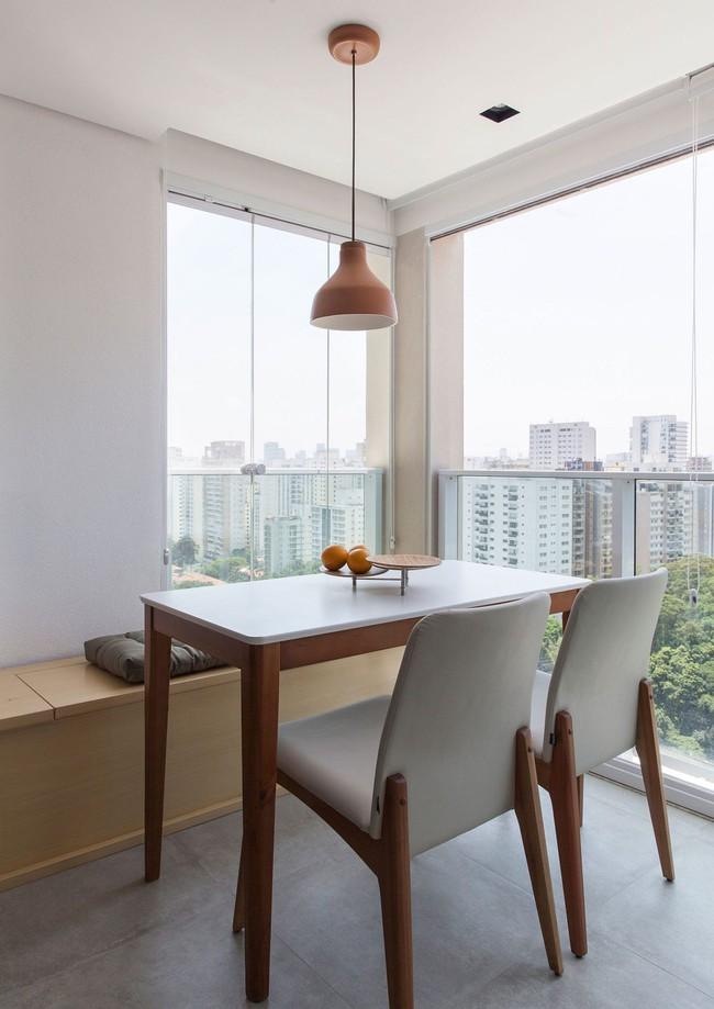 25 phòng ăn cho căn hộ nhỏ vừa đẹp lại vừa tiết kiệm không gian - Ảnh 9.