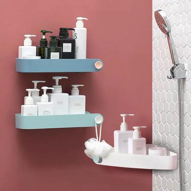 Làm kệ lưu trữ phòng tắm thực sự dễ dàng, hoàn toàn không cần phải khoan tường nhờ đồ vật này - Ảnh 2.