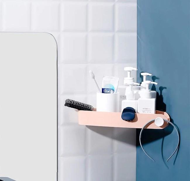 Làm kệ lưu trữ phòng tắm thực sự dễ dàng, hoàn toàn không cần phải khoan tường nhờ đồ vật này - Ảnh 7.
