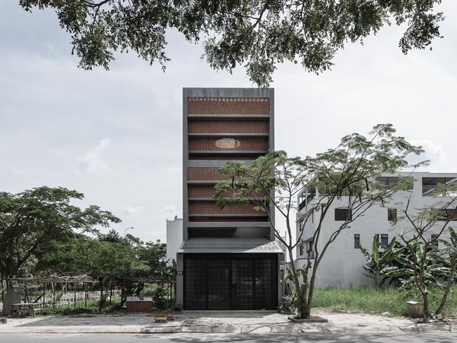 Ngôi nhà 43m² có thiết kế đặc biệt để tránh côn trùng và ô nhiễm ở Sài Gòn - Ảnh 3.