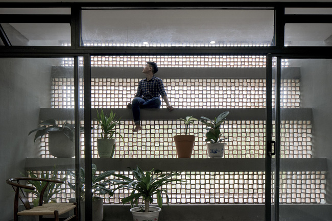 Ngôi nhà 43m² có thiết kế đặc biệt để tránh côn trùng và ô nhiễm ở Sài Gòn - Ảnh 6.