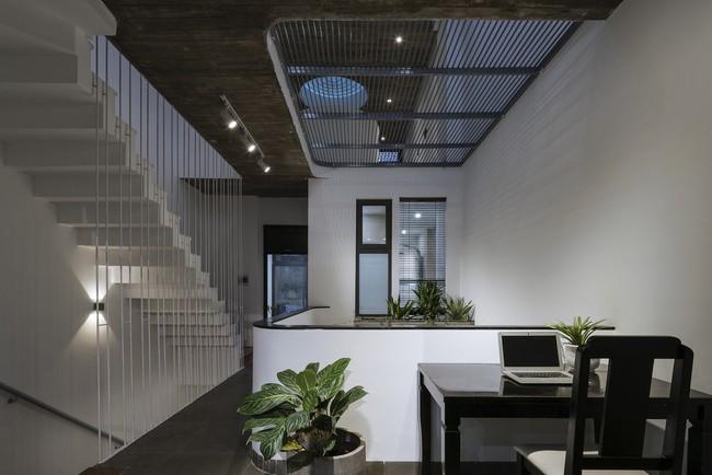 Ngôi nhà 43m² có thiết kế đặc biệt để tránh côn trùng và ô nhiễm ở Sài Gòn - Ảnh 8.