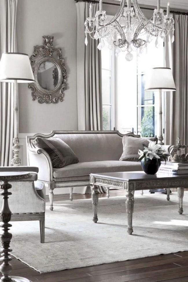 9 ý tưởng siêu tuyệt vời dành cho phòng khách cổ điển khiến bạn muốn lịm tim - Ảnh 9.